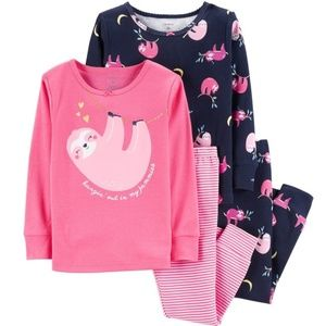 Carter's - Sloth Tops & Bottoms Pajama Set